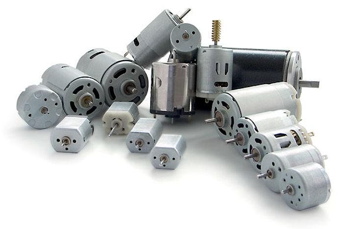 micromotori commex a corrente continua