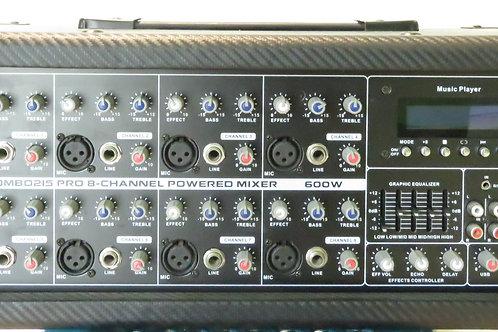AMPLIFICADOR DE PODER AMPL-150W A-4 OHM 8 CANALES VZ-890BU <VOYZ>