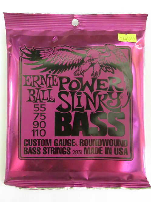 SET DE 4 CUERDAS POWER SLINKY PARA BAJO EB2831 <ERNIE BALL>