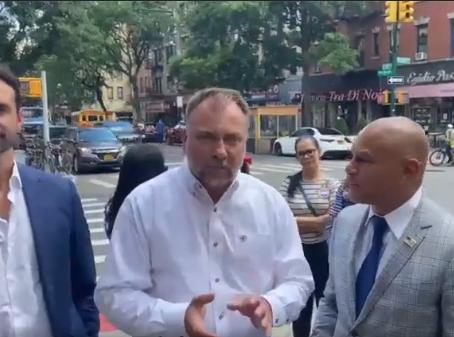 Pastor Authur Pawlowski Endorses Mateo for Mayor