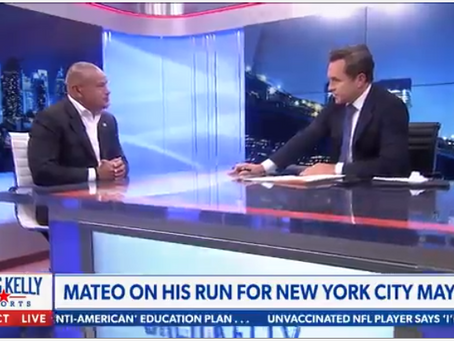 NEWSMAX Interviews Fernando Mateo on Bringing Back Ray Kelly to Lead NYPD