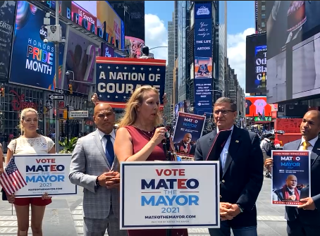Moms For America Endorse Mateo for Mayor