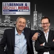 INTERVIEW: Len Berman & Michael Riedel in the Morning 710 WOR AM Radio Interview Fernando Mateo