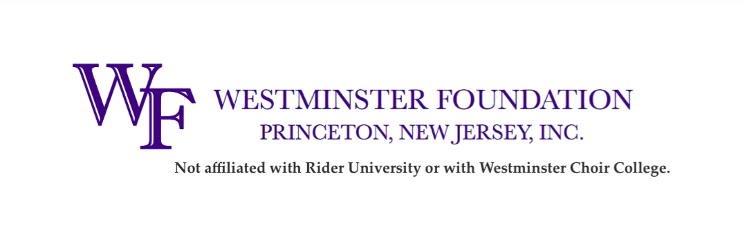ABOUT THE FOUNDATION | The Westminster Foundation, Princeton, NJ, Inc