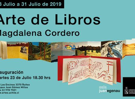 ARTE DE LIBROS en Sala Juan Egenau Universidad de CHILE