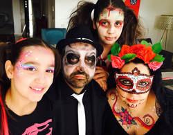 © Rosy Red Face Painting Melbourne