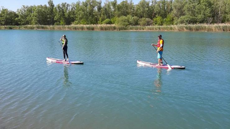 Entre amis en paddle