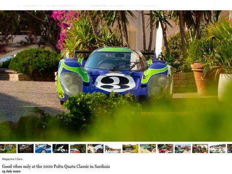 Classic Driver: Good vibes only at the 2020 Poltu Quatu Classic in Sardinia
