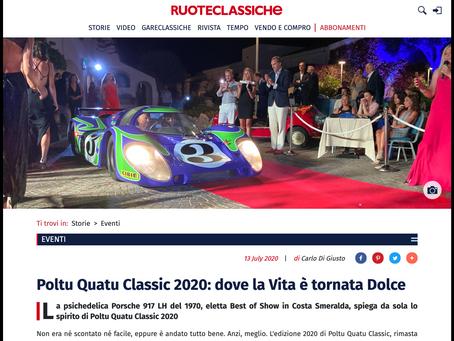 Ruoteclassiche: Poltu Quatu Classic 2020 - dove la Vita è tornata Dolce