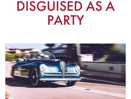 Alfa Attitude: A CONCORSO DISGUISED AS A PARTY