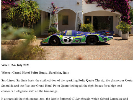 The 33 best classic car events of 2021 By Classic & Sports Car