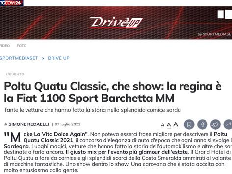 Poltu Quatu Classic, che show: la regina è la Fiat 1100 Sport Barchetta MM
