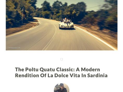 The Poltu Quatu Classic: A Modern Rendition Of La Dolce Vita In Sardinia