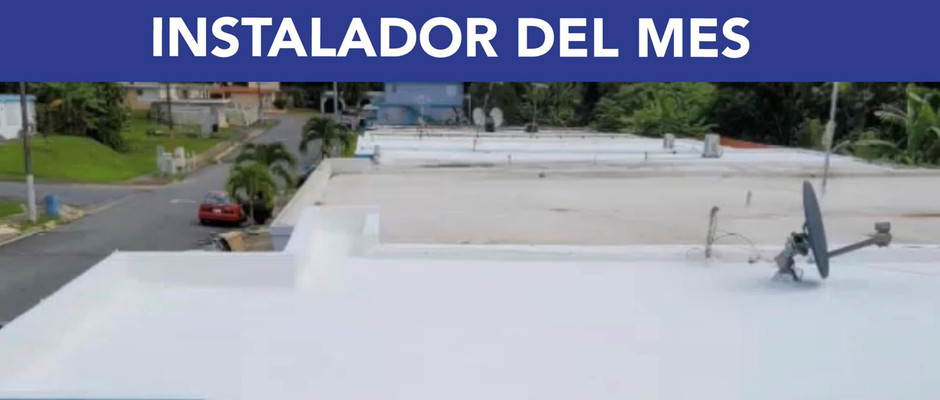Jorge Cedeño: Instalador del mes de Noviembre 2020
