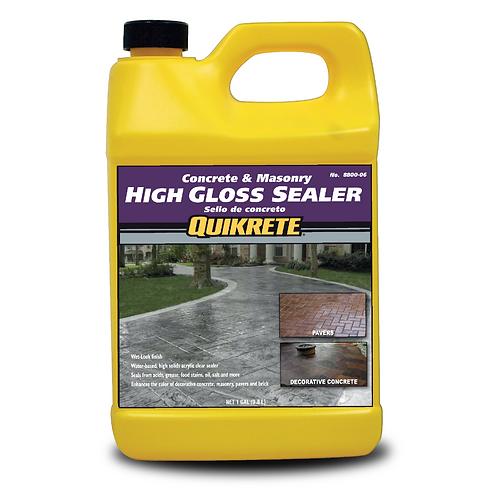 CONCRETE & MASONRY High Gloss Sealer -Wet Look