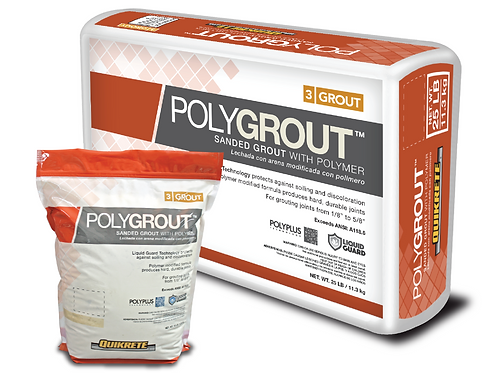 POLYGROUT™ Sanded Grout with Polymer