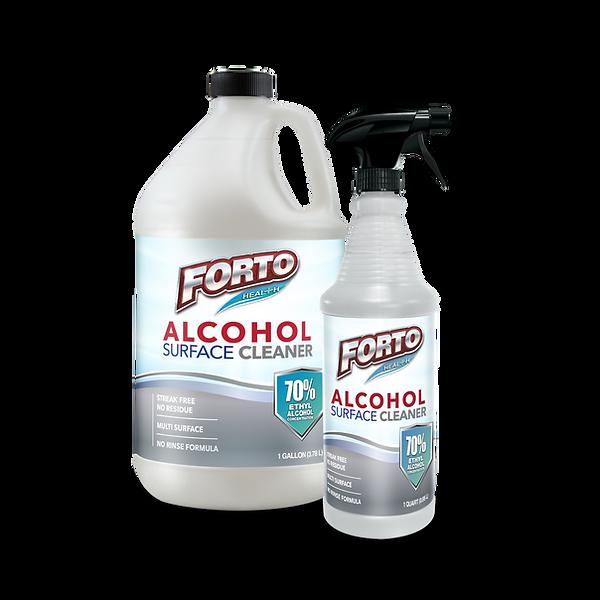 Alcohol surface cleaner bottle QT-01-01.
