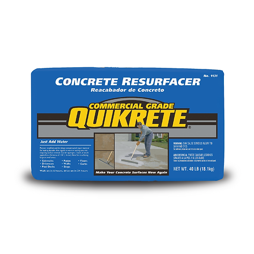 CONCRETE RESURFACER