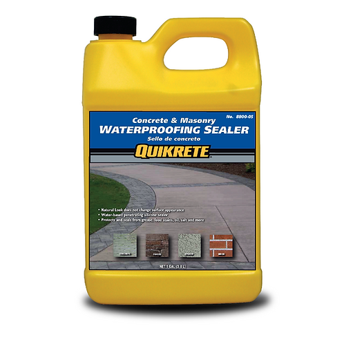 CONCRETE & MASONRY Waterproofing Sealer-Natural