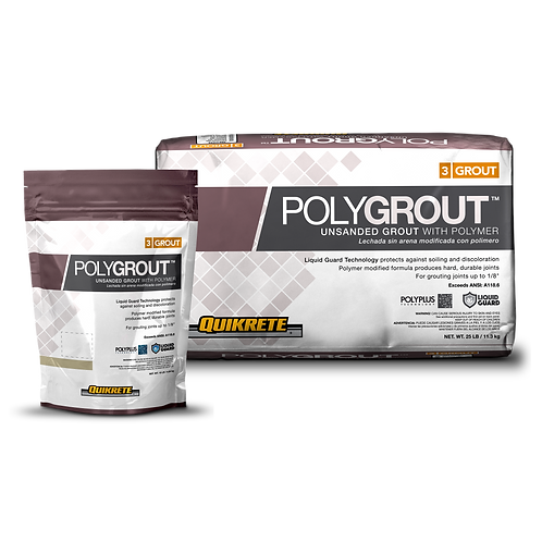 POLYGROUT™ Unsanded Grout with Polymer