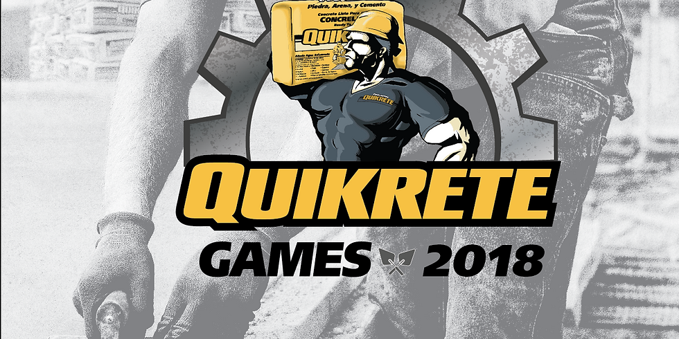 HANDYMAN WORLD QUIKRETE® GAMES 2018 SABADO