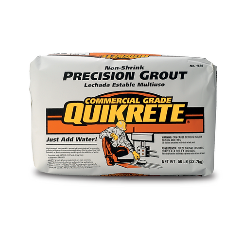 NON-SHRINK PRECISION GROUT