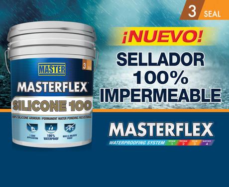 Masterflex® Waterproofing Systems introduce nueva linea de Silicone.