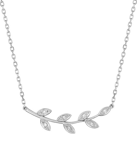COLLIER NATURE DIAMANTS