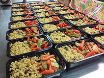Family meals program, production food services