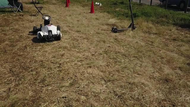 e-ビークルパークで空撮