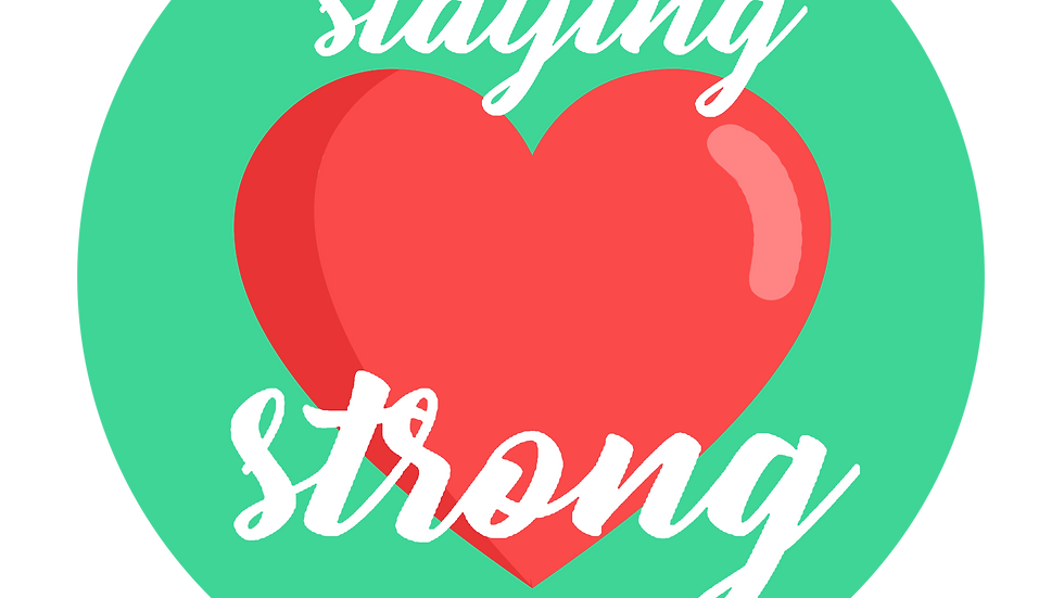 Staying Strong (3 pack)