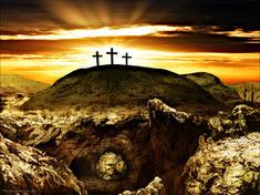 Christ's resurrection empty tomb