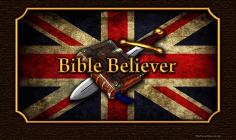 Bible believer and sword