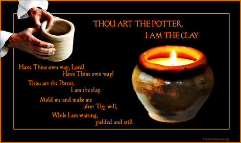 Christian hymn Thou art the Potter