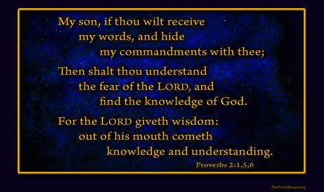 Bible verse plaque Proverbs 2