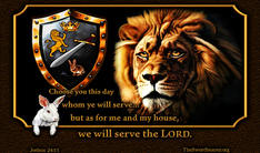 Lion of the tribe of Judah shield