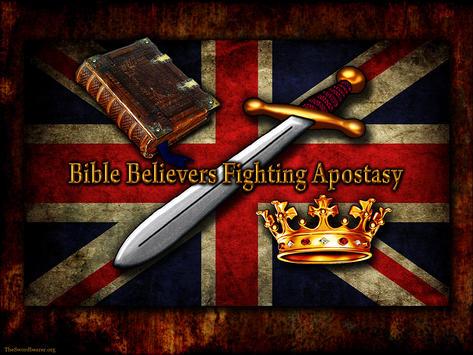 Bible believer sword crown