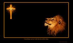Cross and Lion of Judah