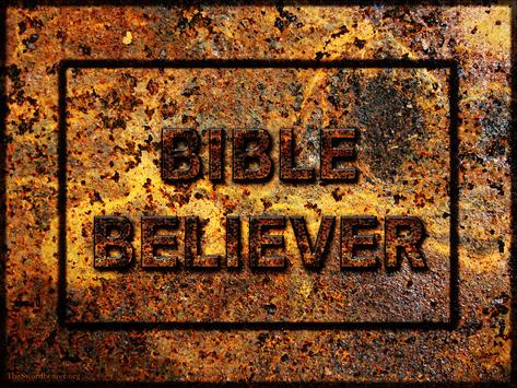 Bible believer plaque