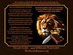 Lion Bible crown sword