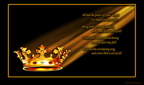 Christian hymn Crown Him lord of all