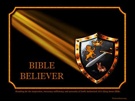 Bible believer shield light rays