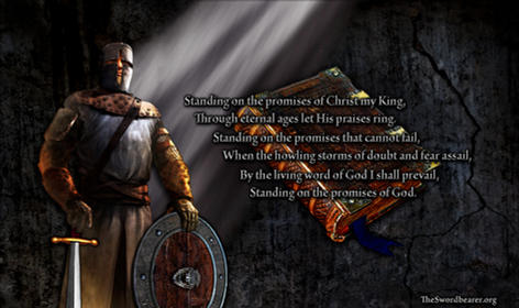 Christian hymn Standing on the Promises