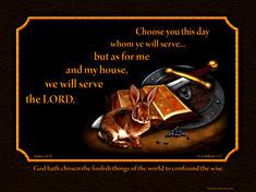 Bible sword shield