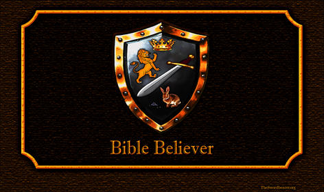 Bible believer shield