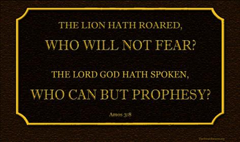 Bible verse plaque Amos 3