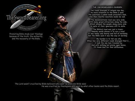 Christian warrior sword shield