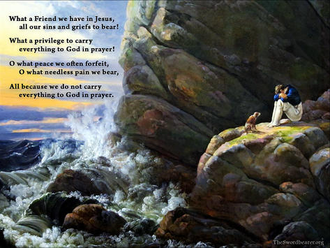 Christian hymn What a friend we have in Jesus