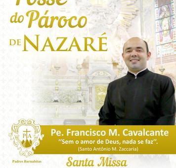 Novo pároco da Basílica de Nazaré