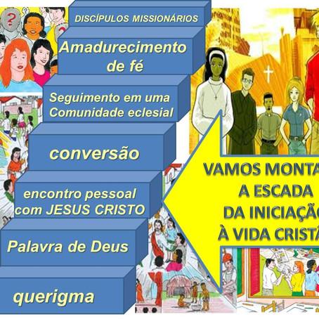 O anúncio e a iniciação à vida na Igreja. Por: Edvando Barros